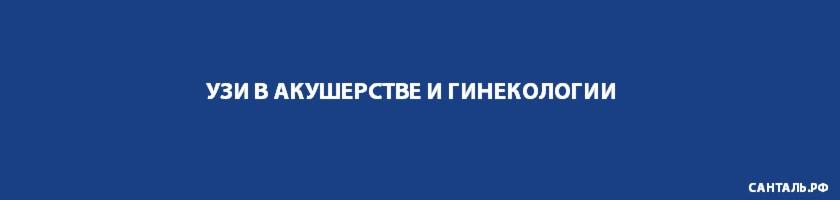 УЗИ в акушерстве и гинекологии Санталь Новосибирск